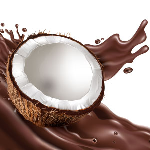 Chocolate Coconut Shake Bottle