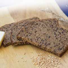 Dark Protein Bread